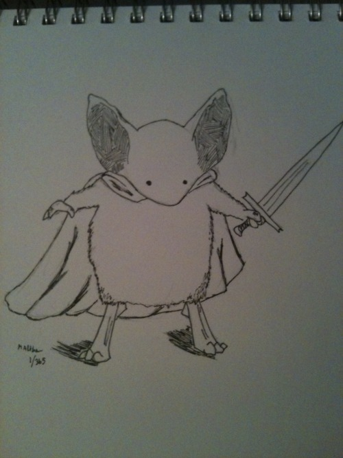 Mouse Guard fan art, done by me.    I'm crazy, I think, but I'm going to try(keyword) to do a drawing every day.  This is 1/365.  December 30, 2011.