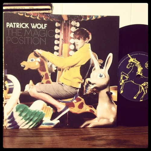 "Patrick Wolf Magic Position (Part 1) 7"" Single 2007 A&M Records 1725995"