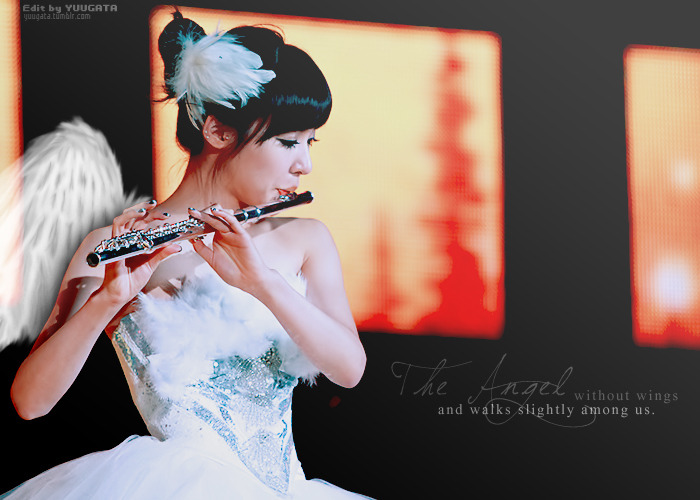 "[EDIT] SNSD'S TIFFANY - ""Angel Walks Among Us""  Edit by me Photo by Biong"