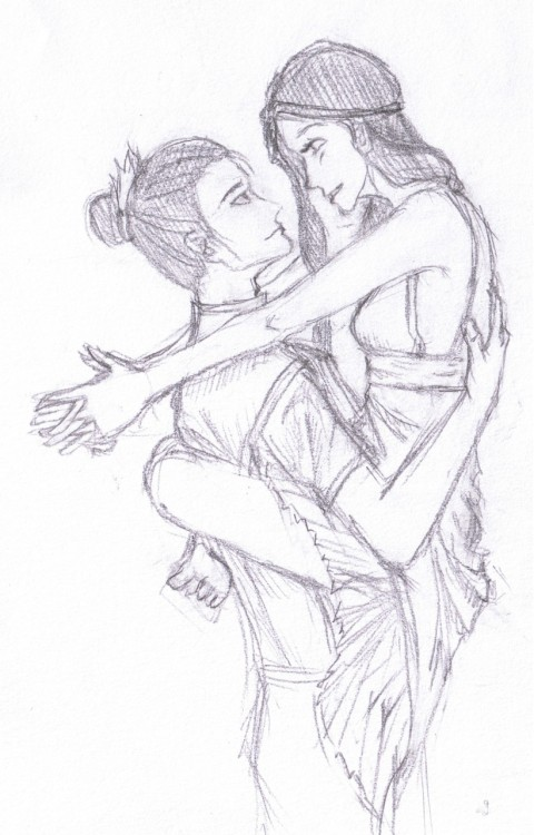 enchiridon:  ZUTARA BECAUSE UGH. I SHIP IT SO HARD. Will be coloured!