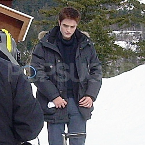 Filming Breaking Dawn Part 2.
