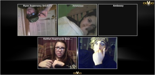 Late night bloggers oovoo-ers yeah