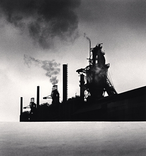 The Rouge, Study 11, Dearborn, by Michael Kenna 1993 by Photo Tractatus on Flickr.