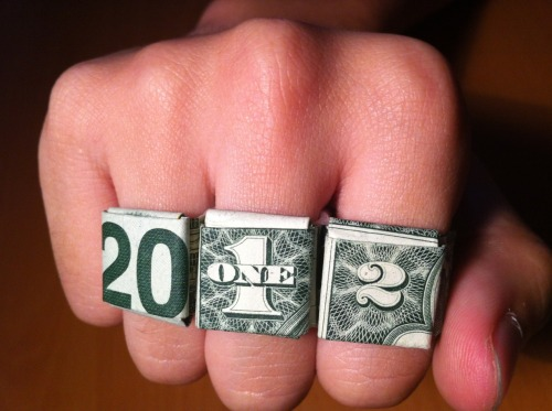 2012 MONEY RING