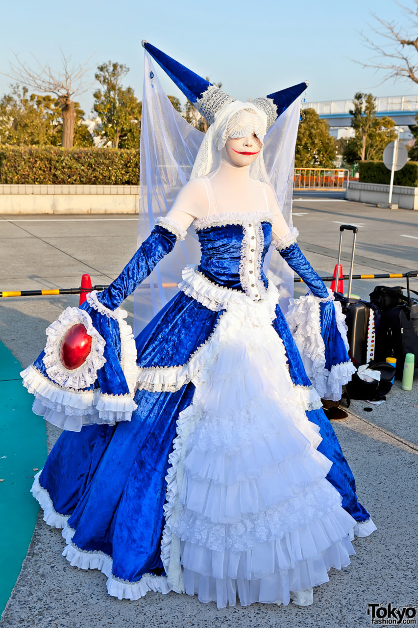 Beautiful cosplay seen at Comiket #81 in Tokyo this weekend. This person also appears in our Comiket video.