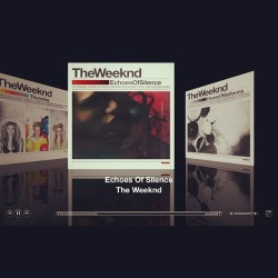 This wat my night consist of. The trilogy #theWeeknd (Taken with instagram)