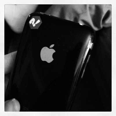 I found a 1st gen iPhone hanging out. (Taken with instagram)