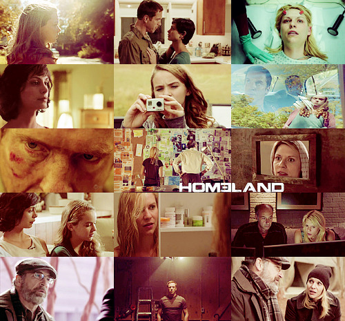 "pottyaboutharry:  The Best of TV 2011|New & Old (alphabetical order)  H O M E L A N D ""The world is about to end and we're standing around talking!"""