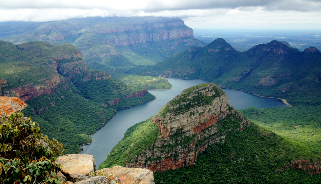 The epic view of the Blyde River Canyon, northeast of Johannesburg.