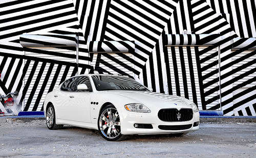 Maserati Quattroporte. Photo by F1Photography.net