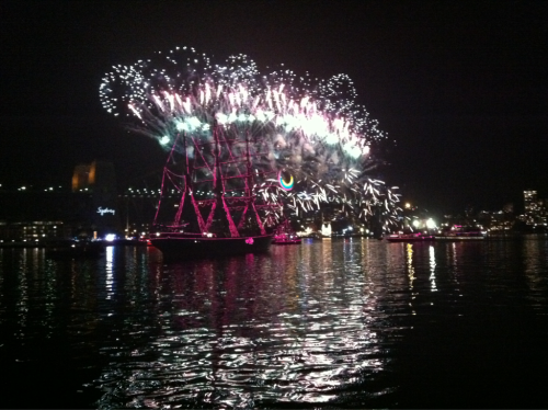 Happy New Year from Sydney!!