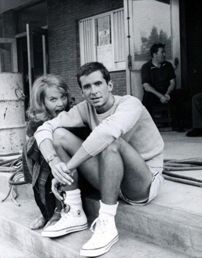 Jane Fonda & Anthony Perkins, 1960