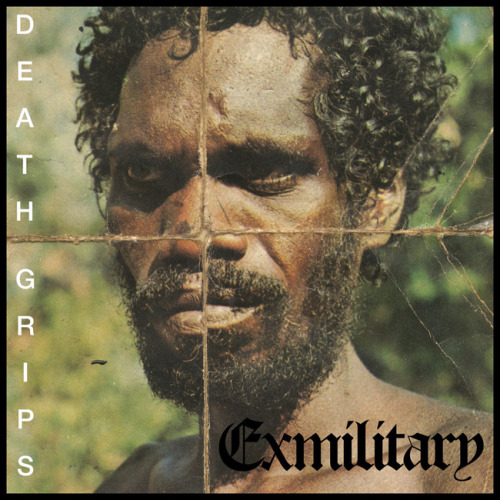 "Death Grips - ""Ex-Military"" (Self-Released) With bass heavy beats, frantic sampling and one of the angriest sounding MCs ever, this is hip hop unlike any other. Featuring Zach Hill from Hella on drums and, the otherwise unknown to me, MC Ride, this is rough and heavy hip hop with a punk approach to roughly edited samples and hollered vocals. Sounding like a really angry RZA, MC Ride gets over mainly due to his constant boisterous shouting, not necessarily his lyrical content. At several points there are large recognisable samples, sometimes playing with little or no accompaniment, which reminded me of the Beastie Boys' 'Paul's Boutique' album. Other parts of the album also reminded me of El-P's 'Fantastic Damage' album or even Fever's 'Too Bad, But True'. If you're a fan of any of those albums, or can listen to aggressive hip hop with an open mind, then this is definitely a highly entertaining album."