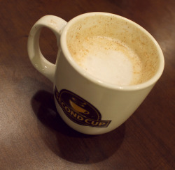 Chai Latte from Second Cup