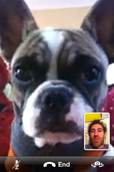 i am skyping with out of town parents. Happy New Years!