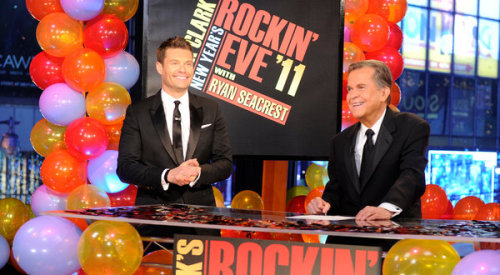 laughingsquid:  Dick Clark and 'Rockin' Eve' Reach Milestone  We'll be watching this tonight.