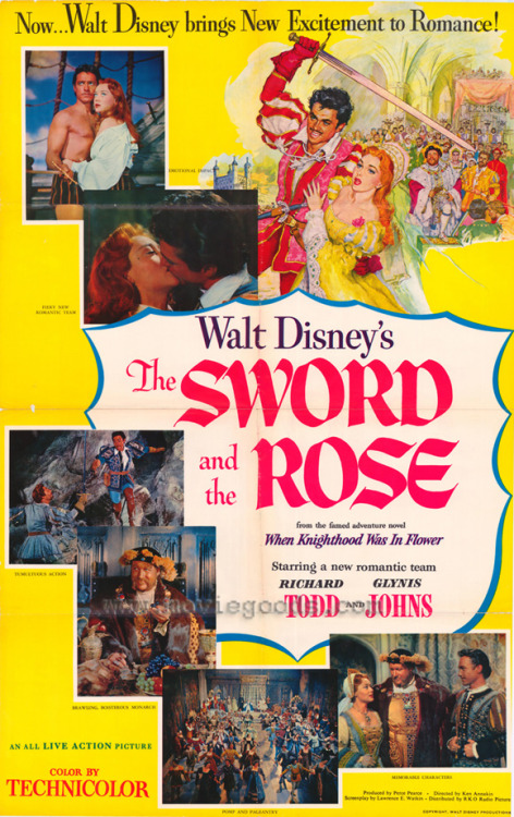 #361 The Sword and the Rose (1953)