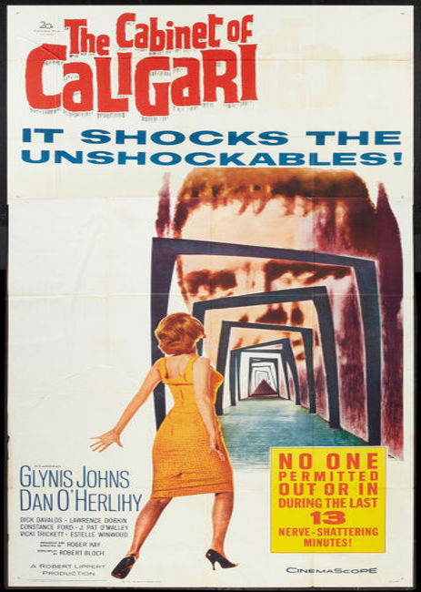 #366 The Cabinet of Caligari (1962)