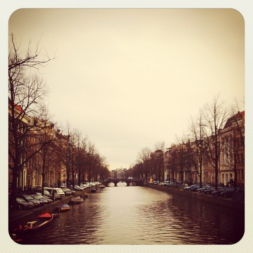 Amsterdam canal (Taken with instagram)