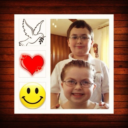 #PeaceLoveHappiness … #MyKids #top11of11 #2011  (Taken with instagram)