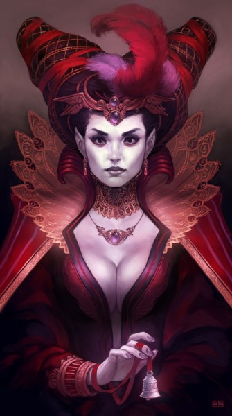 (via delightful drawings / Portrait of the dead countess | *Scebiqu | deviantART)