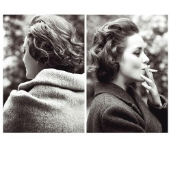 Marion Cotillard  Almost makes me want to take up smoking.