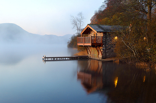 The Boat House  by midlander1231