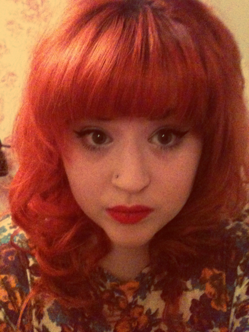 On my way to Beckys for Hogmany looking very 1960s as usual!