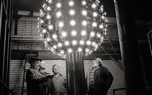 unhistorical:   The first Times Square Ball - 1907.