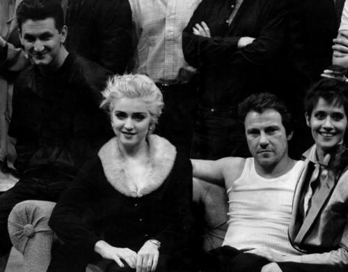 Madonna as Lorraine in Goose and Tom Tom with Sean penn, Harvey Keitel and Lorraine Bracco