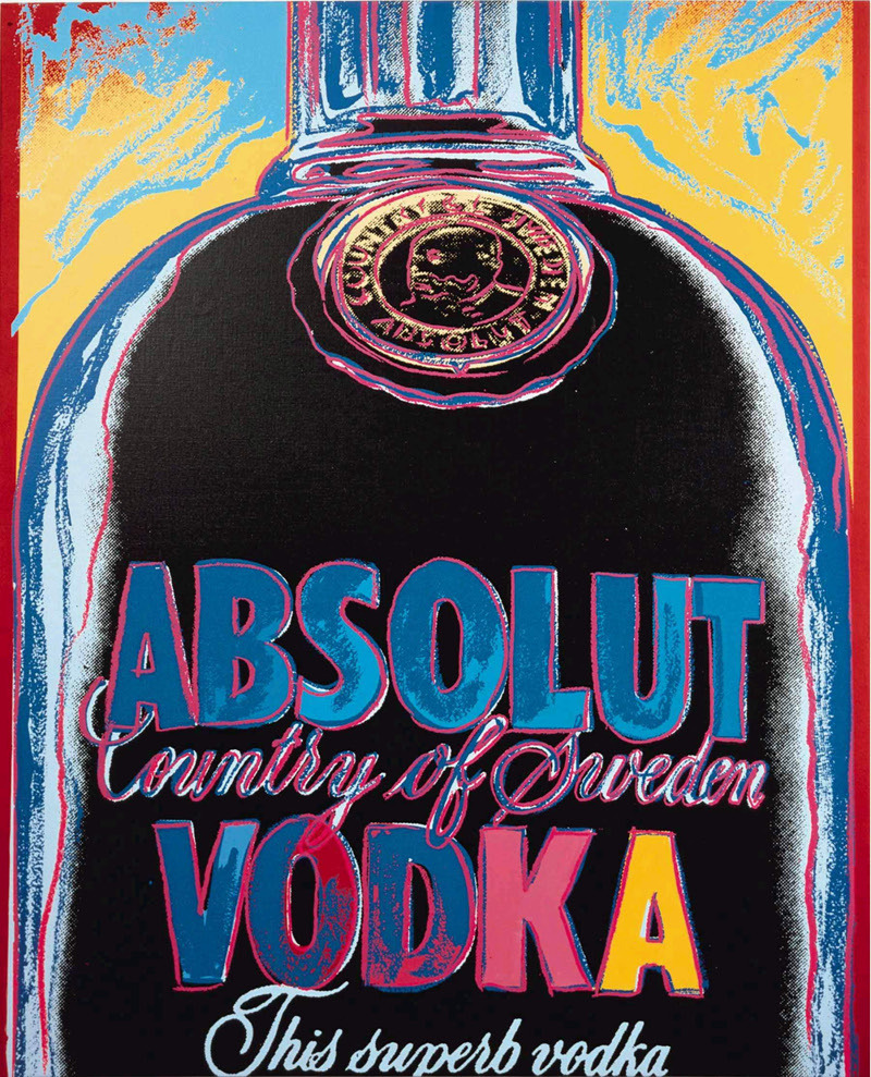 Andy Warhol for Absolute VodkaHappy New Year Everyone! Have fun, be safe!