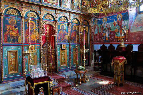 fuckyeahaltars:  The Altar of Saint George the Victorious Church (by Stojan Toshe Nikolovski)