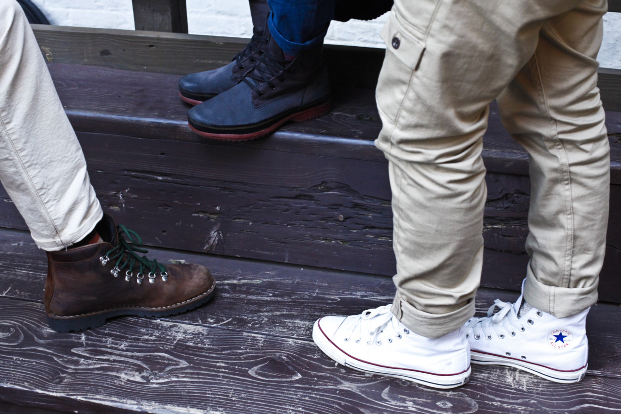 tuckedllc:  Footwork. (@shotchkissny @lavishlivez @jfkjean)