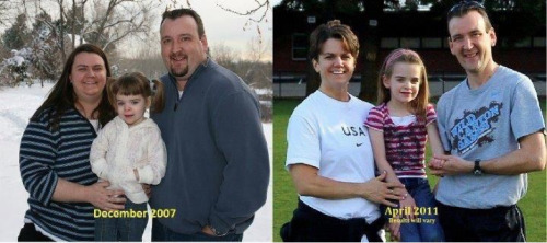 There is Hope!!! Trey and Jenn lost a combined total of over 300 pounds. They are now in the best health and shape of their marriage and have a whole new lease on life. Not only have they gained their health back and a new perspective on life, they have started joining in on activities they never thought possible. Results may vary.