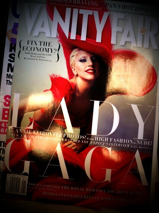 Lady Gaga — cover of Vanity Fair (Photo by katelynblock)