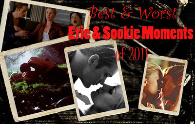 Find out our picks for Best & Worst Eric & Sookie Moments of 2011!! They include both True Blood Season 4 and Dead Reckoning! Don't be afraid to check them out here: http://ericandsookielovers.com/2011/12/31/best-worst-eric-sookie-moments-of-2011/ Wishing Eric & Sookie Lovers everywhere - Happy New Year and all the best in 2012! Thanks for following!