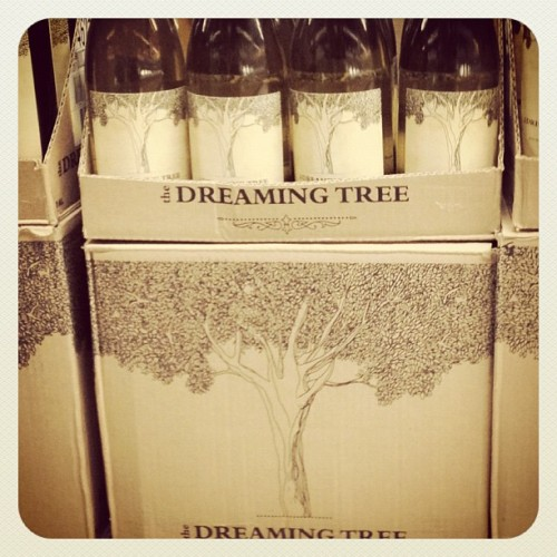 "Wegmans also carries Dave Matthews' wine ""The Dreaming Tree"" :) (Taken with instagram)"
