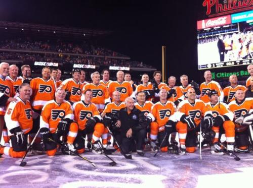 Winter Classic Alumni Game Philadelphia Flyers 3 - New York Rangers 1