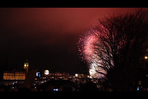 Just back from a great fireworks show on the banks of the Thames!  I love New Years Eve…such a great celebration of humanity and a wonderful reminder of the fact that we can achieve so much if we work together! Best wishes for the new year to all of you!