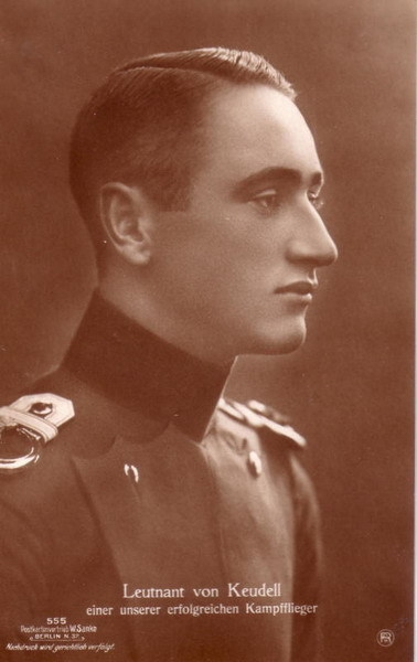fuckyeahhistorycrushes:  Another young hero of the First World War. Hans von Keudell, born April 5, 1892 and killed in action February 15, 1917. Holder of the Knight's Cross with Swords of the Royal House Order of Hohenzollern.