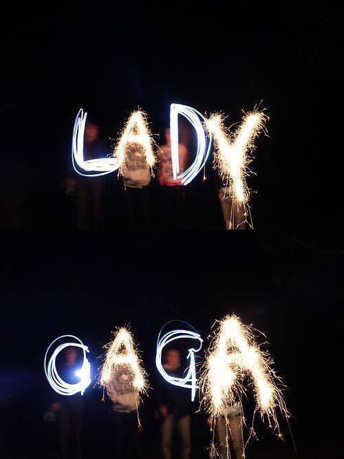 "Happy New Year for my queen ""LADYGAGA"""
