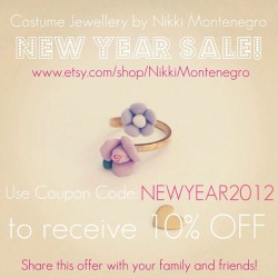 10% OFF SALE in store!!💍 #sale #coupon #couponcode #sales #shopping #shop #designer #style #fashion #trend #lookbook #jewellery #jewelry #rings #necklaces #lockets #vintage #bracelets #earrings #pearls #aliceinwonderland #pretty #cute #girl #pastels  (Taken with instagram)