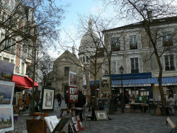 Place du Tertre/ Montmartre/ Sacre Coeur/ París.- by ancama_99(toni) on Flickr.