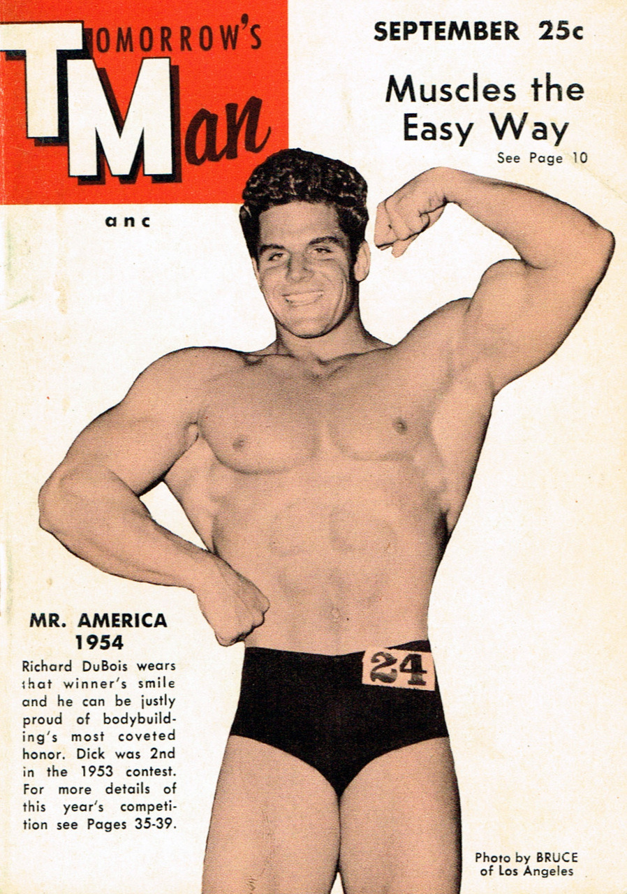 Cover of Tomorrow's Man magazine, September 1954