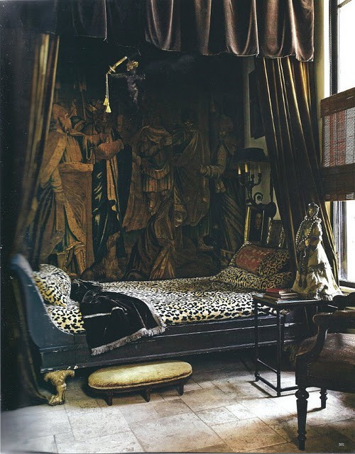 My Bohemian Home ~ Bedrooms and Guest Rooms This is my idea of heaven. (From acquiredobjects.blogspot.com)