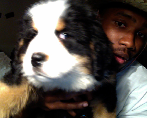 frankocean:  happy 2012 from me & my new homie Everest. sombreros fo lyfe.