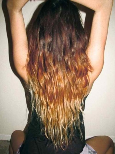 So crazy in love with Ombré Hair right now. Every time I see this pic I get woman wood! Gonna attempt to do this with a superflydope weave! Will post pics when I do!
