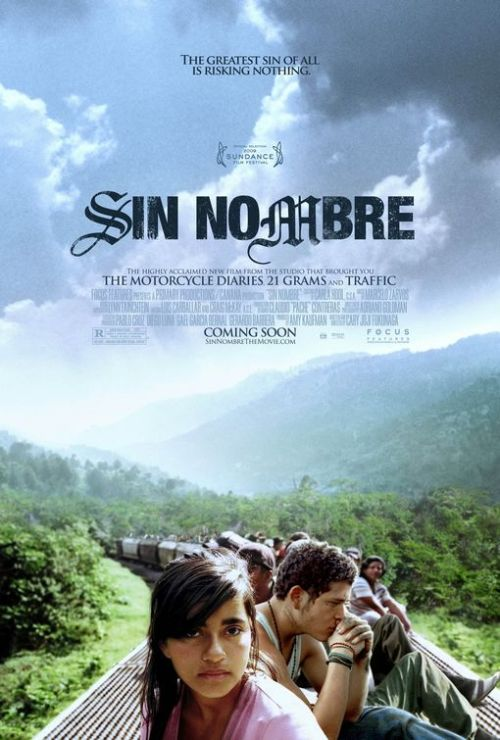 Sin Nombre (2009) P365 Film #364 I really liked this film. It's a Spanish-language movie about two young people trying to escape their lives in Mexico by crossing the border into the US. I though the direction and writing were slick and the actors were great. One or two things seemed a bit unbelievable, but mostly it was an engaging, raw, well-told story that I can totally recommend. I'm now even more keen to check out the director's recent film, Jane Eyre (2011).