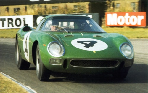 Ferrari 250 LM at the 1964 RAC Tourist Trophy