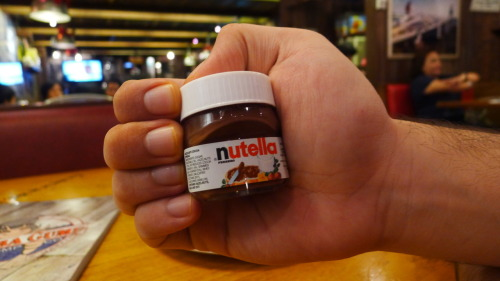 Mini Nutella!
